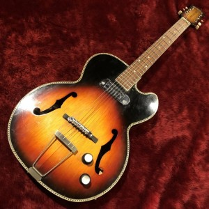 c.1960s Silver Mellow Tone 春日楽器 ビザールギター