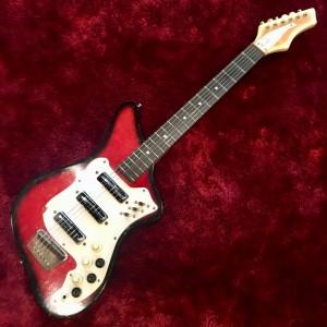 c.1964s ALAMO fiesta 3PU ビザールギター 調整済み 6ヶ月保証
